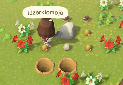 Animal Crossing New Horizons IJzerklompjes