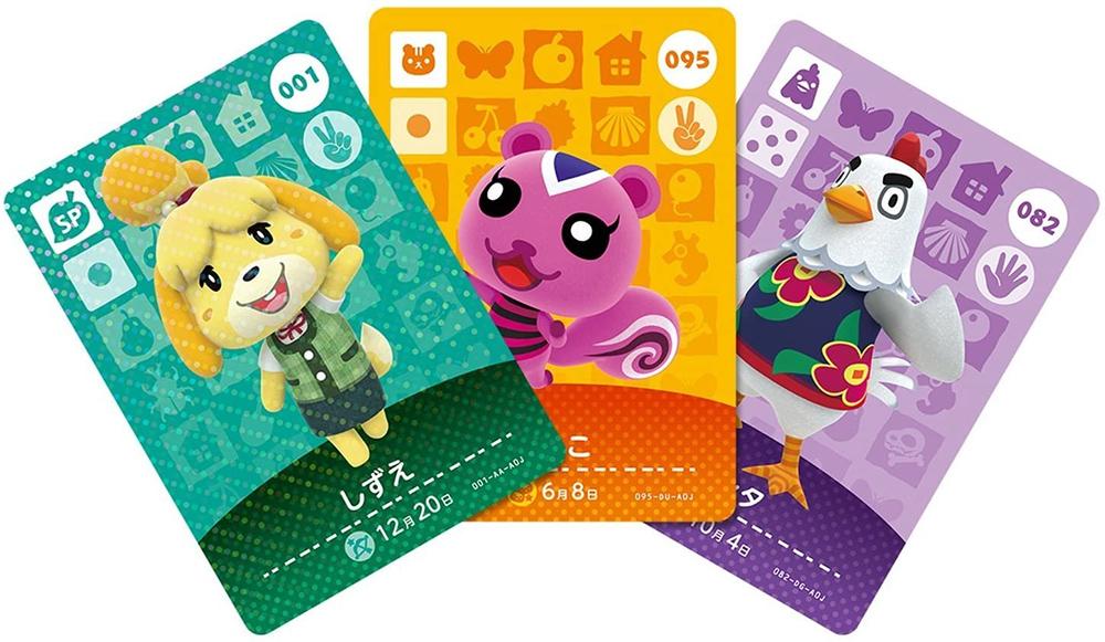 Animal Crossing amiibo kaarten