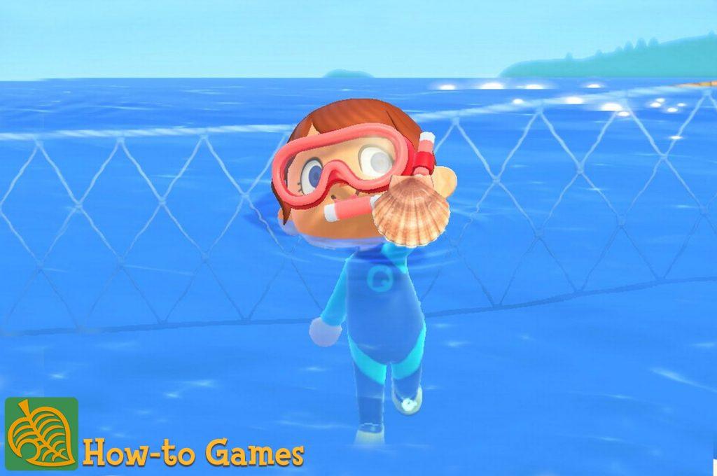 Animal Crossing New Horizons diepzeewezens