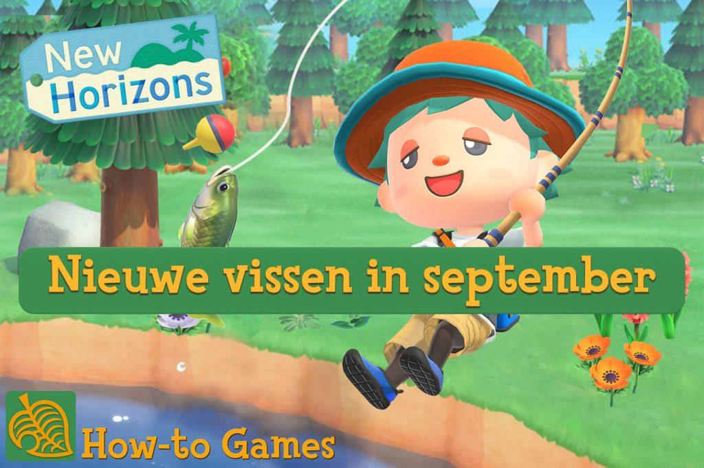 Nieuwe vissen in september in Animal Crossing: New Horizons