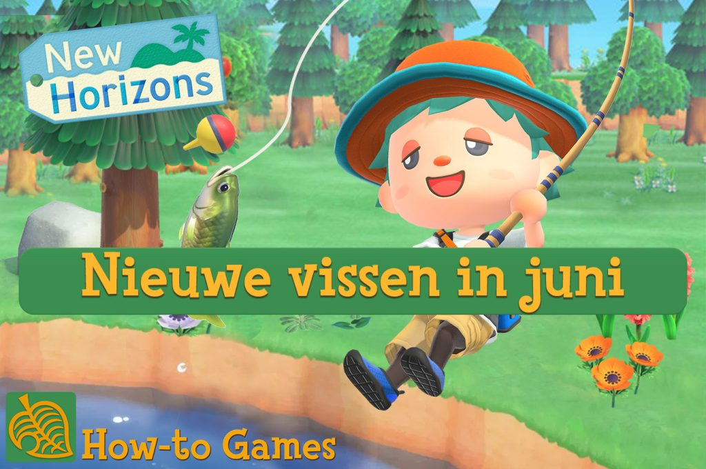 Animal Crossing New Horizons vissen juni