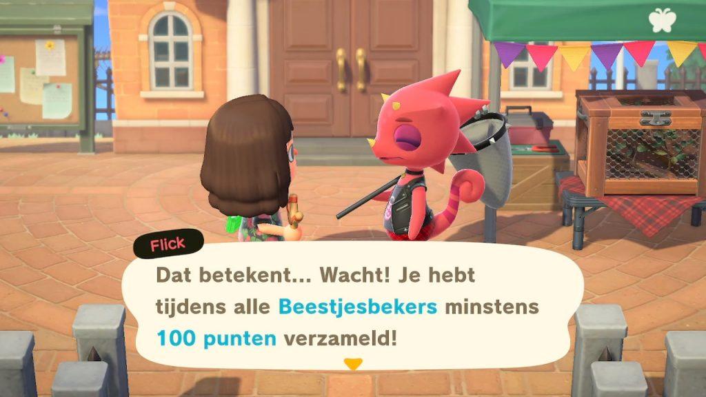 Animal Crossing Beestjesbeker prijzen