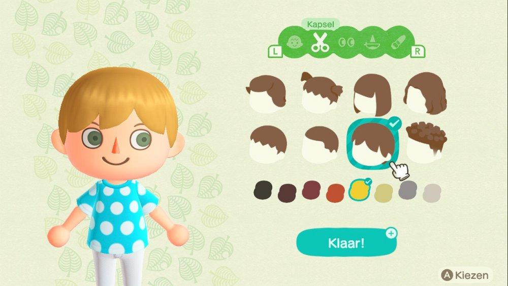 Animal Crossing New Horizons Character Creator