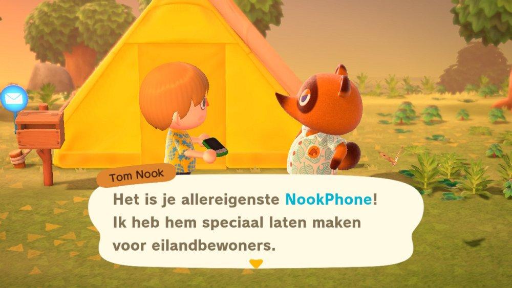 Animal Crossing New Horizons Nookphone