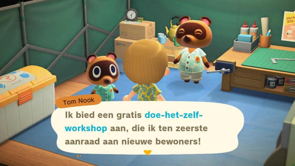 Animal Crossing New Horizons workshop