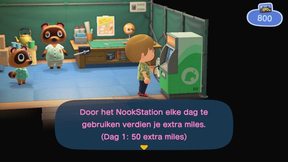 Animal Crossing New Horizons miles