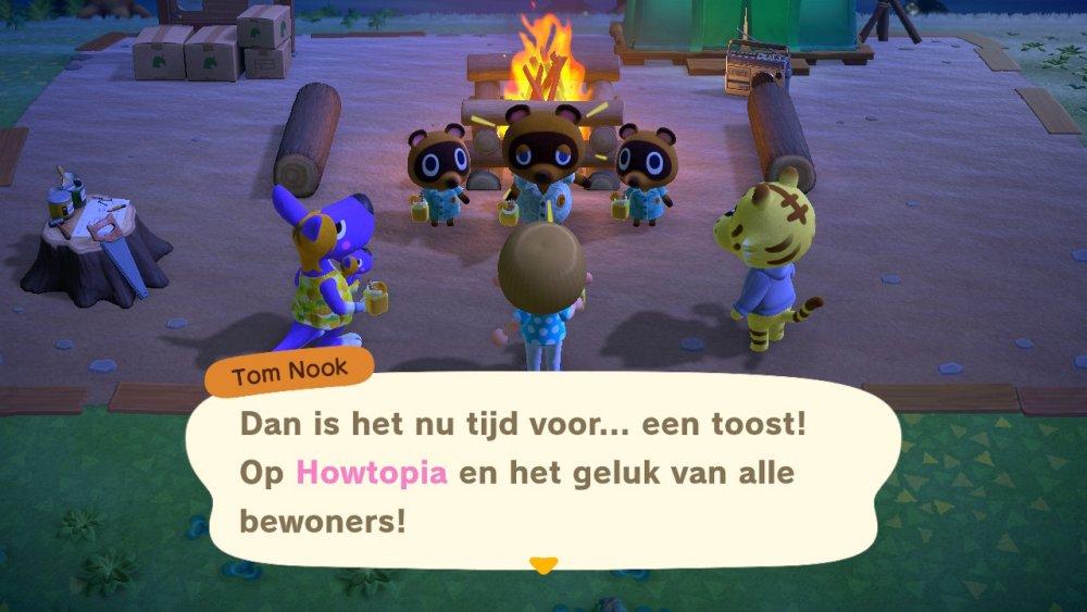 Animal Crossing New Horizons Eilandnaam