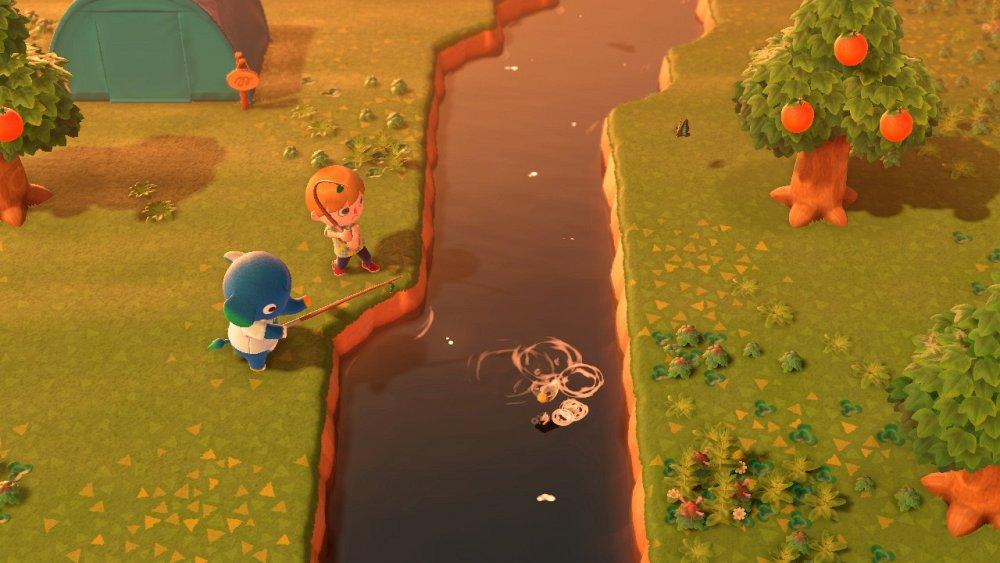 Animal Crossing New Horizons vissen vangen