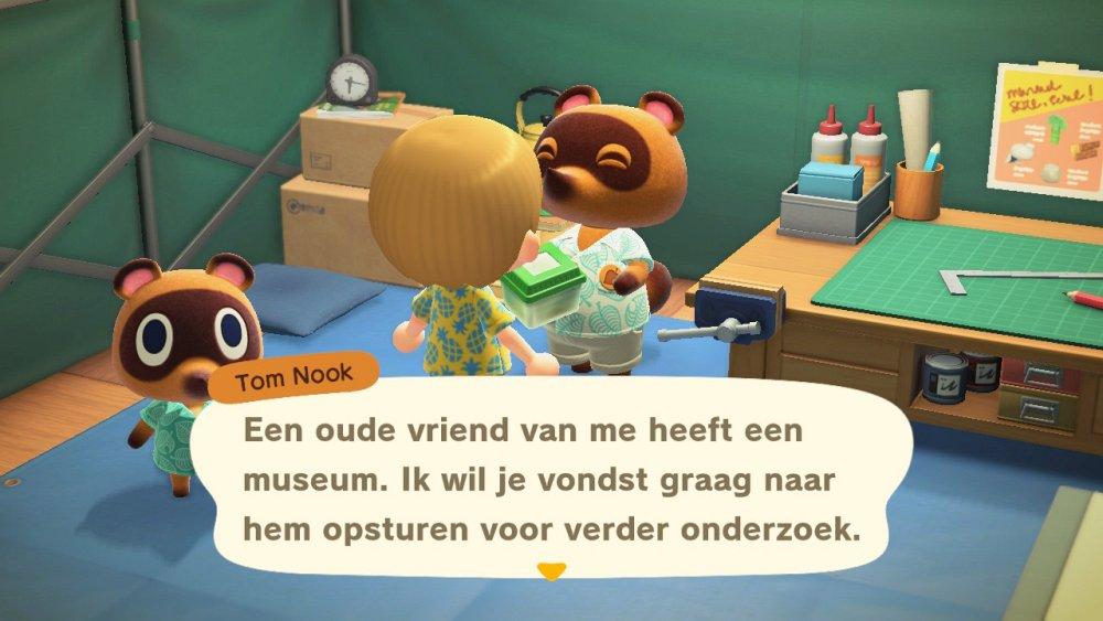 Animal Crossing New Horizons museum openen
