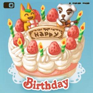 Animal Crossing New Horizons Fijne verjaardag album