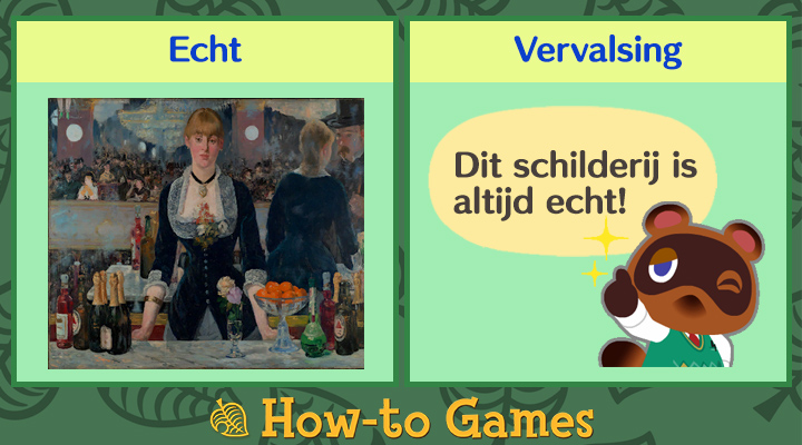 Animal Crossing New Horizons Formele schilderij