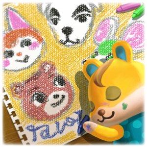 Animal Crossing New Horizons Ik hou van jou album