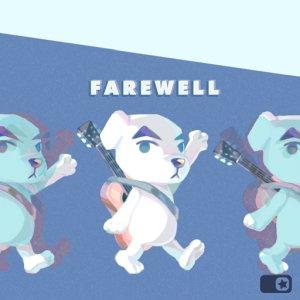 Animal Crossing New Horizons Vaarwel album