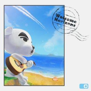 Animal Crossing New Horizons Welkome horizon album