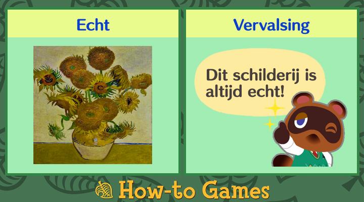 Animal Crossing New Horizons Zonnige schilderij