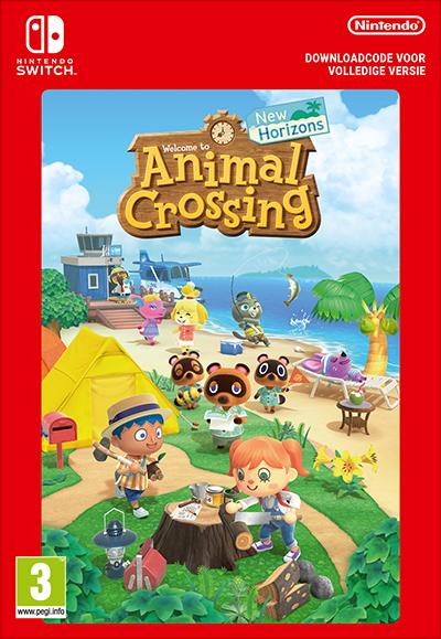 Animal Crossing New Horizons digitaal