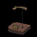 Animal Crossing New Horizons diplodocuskop