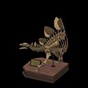 Animal Crossing New Horizons stegosauruskop