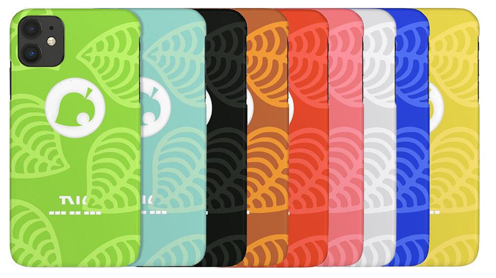 Animal Crossing NookPhone hoesje kleuren