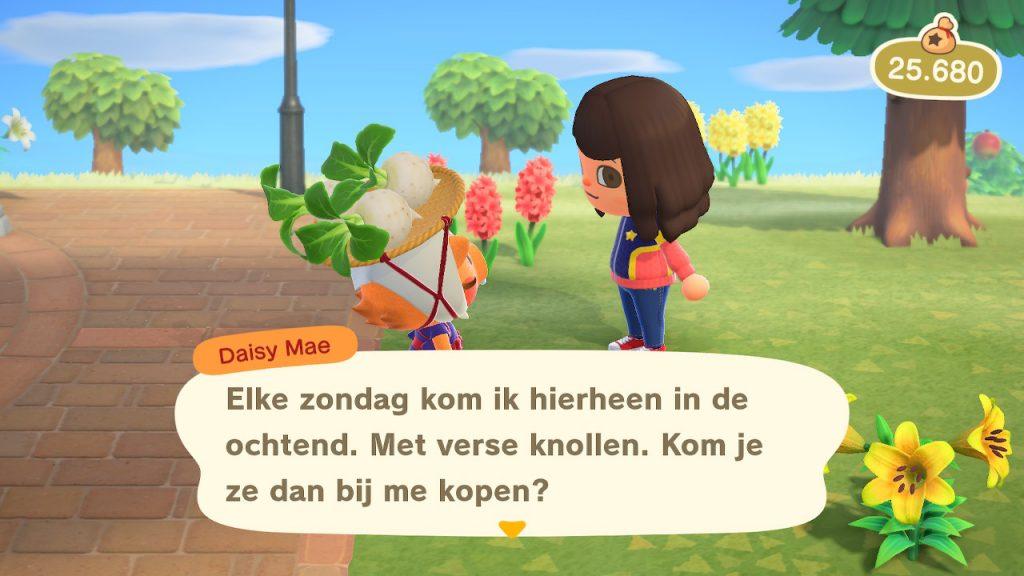 Animal Crossing Knollen Turnips