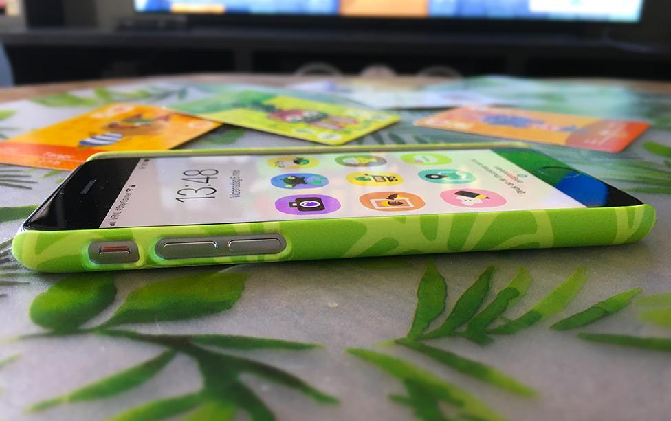 NookPhone hoesje zijkant