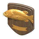 Animal Crossing vissenplaket